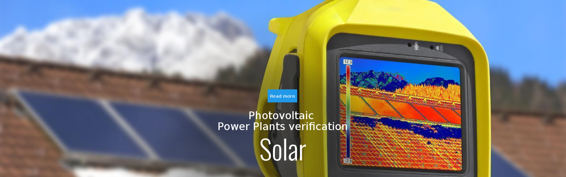 Photovoltaic POWER PLANTS verification